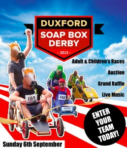Duxford Soap Box Derby 2015 - Sign Up today..